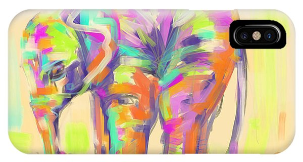 Wildlife Baby Elephant IPhone Case