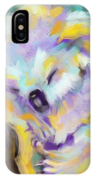 Wildlife Cuddle Koala IPhone Case
