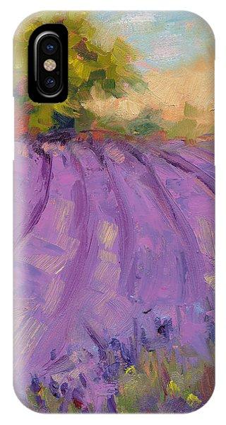 Wildrain Lavender Farm IPhone Case