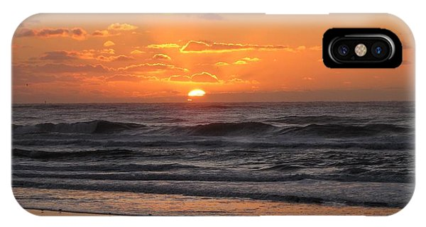Wildwood Beach Here Comes The Sun IPhone Case