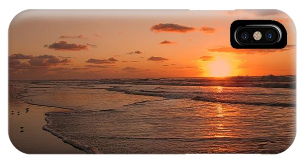 Wildwood Beach Sunrise II IPhone Case