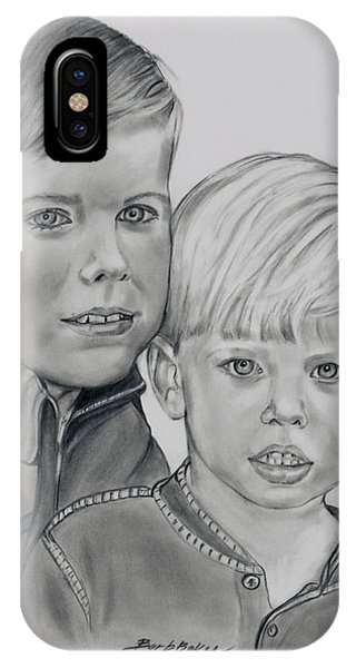 Will And Owen IPhone Case