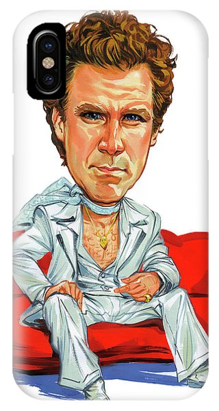 Will Ferrell Phone Case by Art