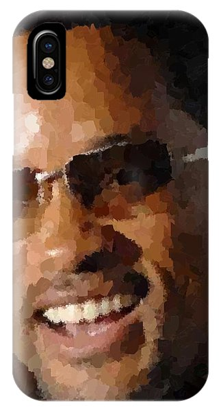 Will Smith Portrait IPhone Case