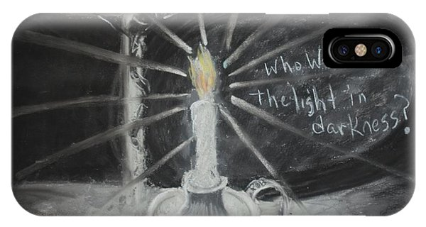 Will You Be The Light? Phone Case by Shelia  Doebereiner