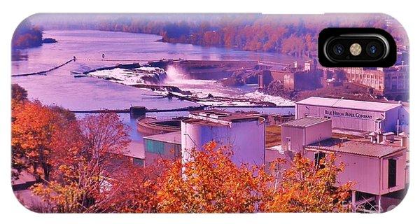Willamette Falls Oregon IPhone Case