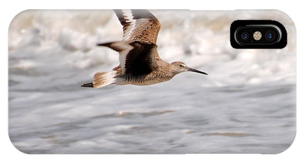 Willet In Flight IPhone Case