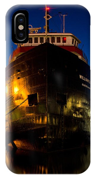 William G. Mather Maritime Museum Cleveland Ohio IPhone Case