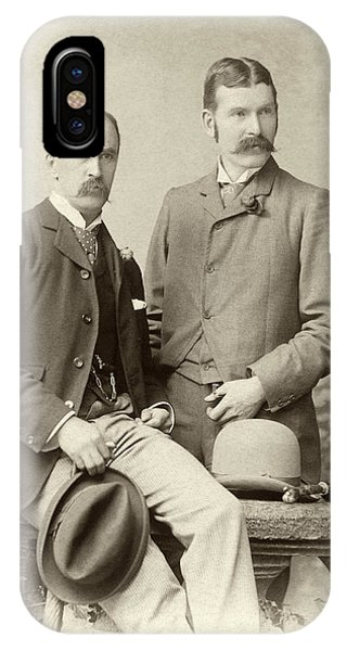 William Osler And Ramsay Wright Phone Case by National Library Of Medicine