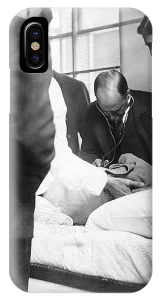 William Osler Attending A Patient IPhone Case