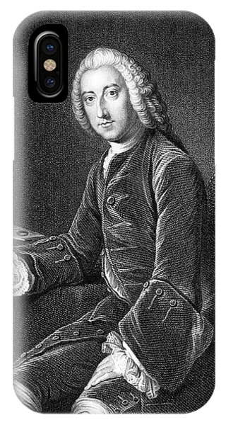 William Pitt - The Elder  1st Earl Phone Case by Mary Evans Picture Library