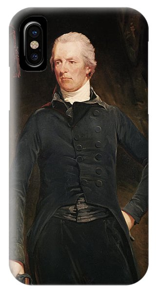 Prime Minister iPhone Case - William Pitt The Younger 1759-1806 Oil On Canvas by John Hoppner