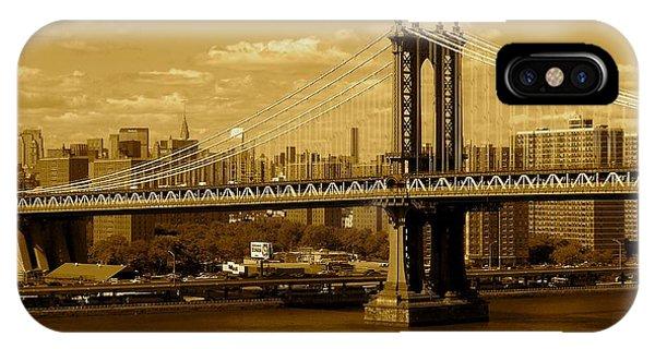 Williamsburg Bridge New York City IPhone Case