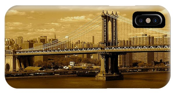 Williamsburg Bridge New York City IPhone Case