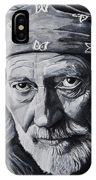 Guitar Legends iPhone Case - Willie  by Brian Broadway