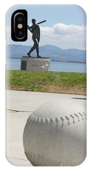 Baseball Hall Of Fame iPhone Case - Willie Mccovey -- Giants 2014 World Champs by David Bearden