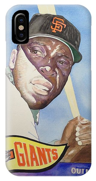 Willie Mccovey Phone Case by Robert  Myers