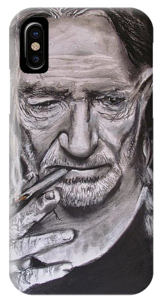 Willie Nelson - Doobie Brother IPhone Case