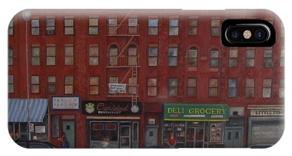 Willis Avenue Tenements Phone Case by Karen Olson