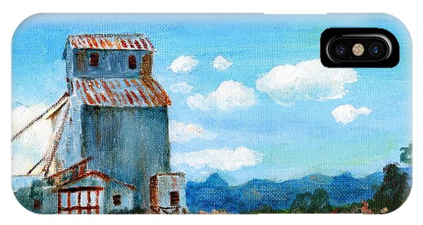 Willow Creek Grain Elevator II IPhone Case