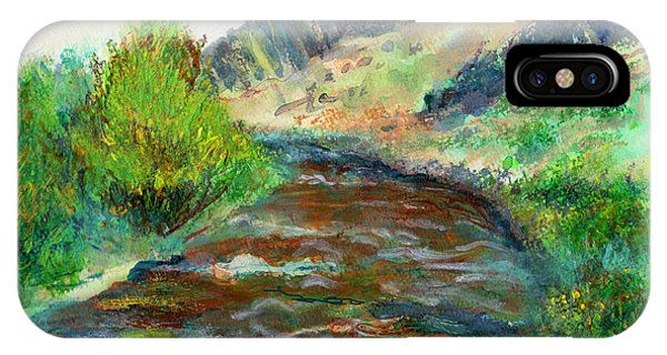 Willow Creek In Spring IPhone Case