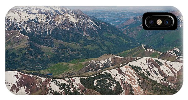 Willow Lake, Bear Trap, Mt IPhone Case