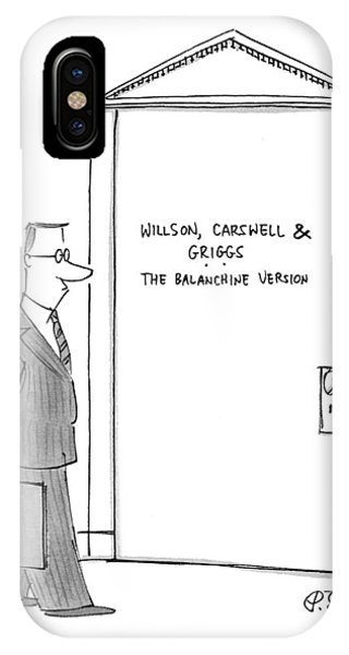 Willson, Carswell & Griggs The Balanchine Version IPhone Case