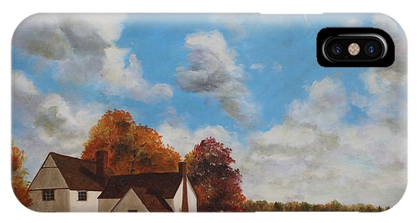 Willy Lott's Cottage Phone Case by Cecilia Brendel