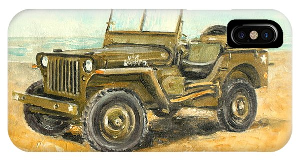 Willys Jeep IPhone Case