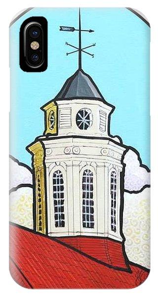 Wilson Hall Cupola - Jmu IPhone Case