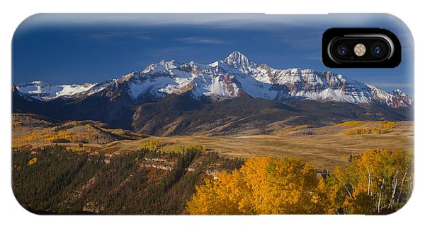 San Miguel iPhone Case - Wilson Peak In The Fall by Bridget Calip