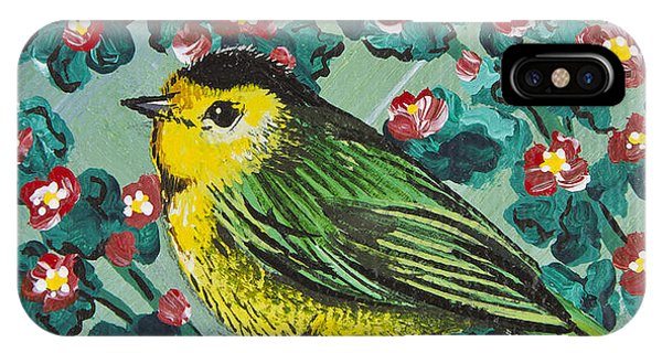 Wilson's Warbler Mini IPhone Case