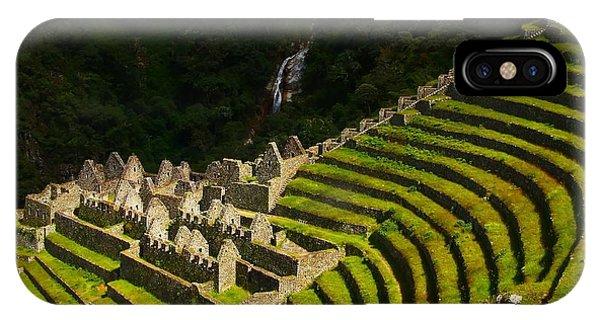 Peru iPhone Case - Winay Wayna Wide View by FireFlux Studios