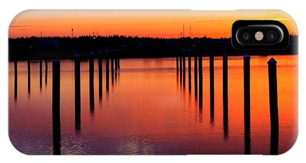 Winchester Bay Sunset IPhone Case