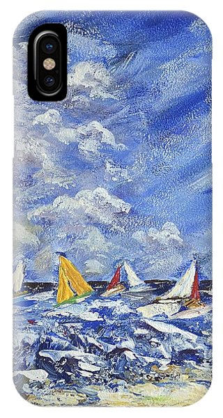 Wind And Sails IPhone Case