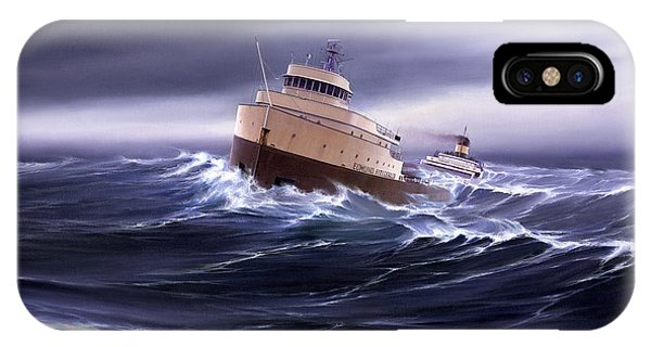 Superior iPhone Case - Wind And Sea Astern by Captain Bud Robinson