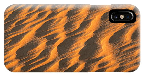 Wind Blown Sand Tx Usa IPhone Case