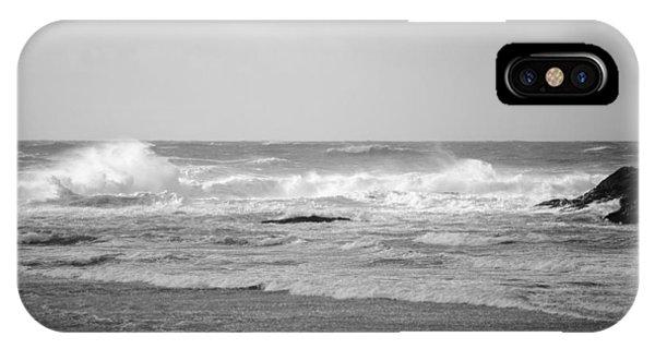 Wind Blown Waves Tofino IPhone Case