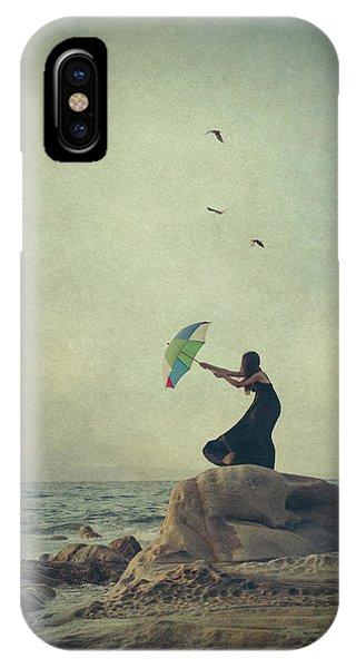 Umbrella iPhone Case - Wind Catcher by Svetlana Bekyarova