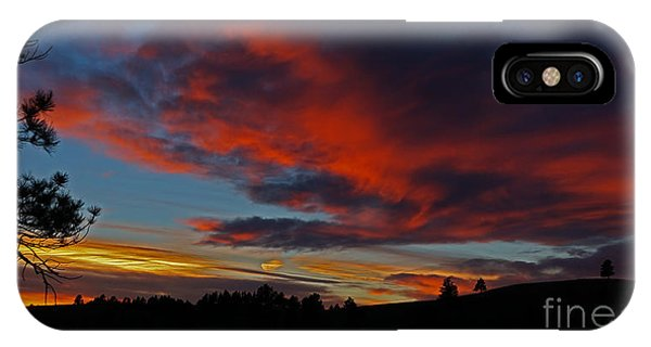 Black Hills Sunset IPhone Case