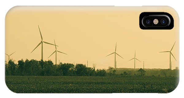 Wheeler Farm iPhone Case - Wind Farm by James Wheeler