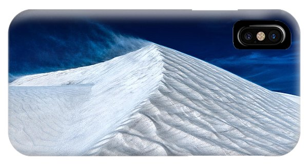 Wind Over White Sands IPhone Case