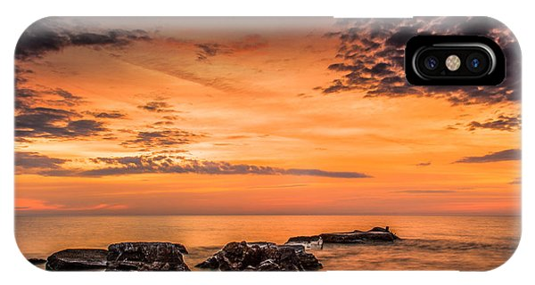 Wind Point Sunrise IPhone Case