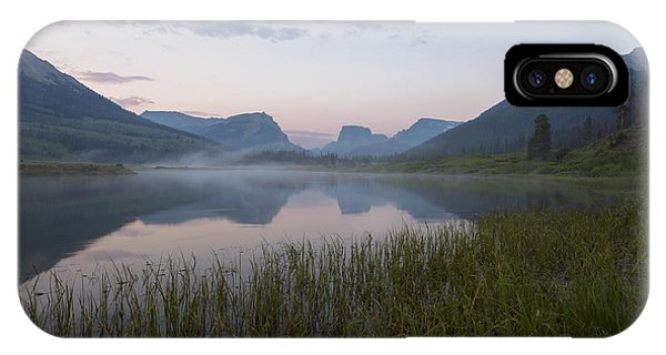 Wind River Morning IPhone Case