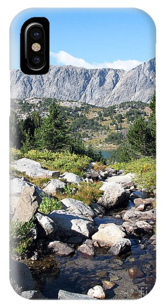 Wind River Range IPhone Case