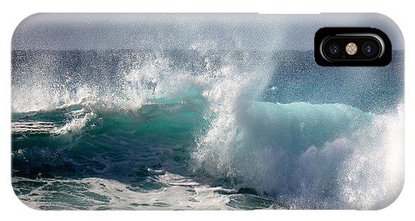 Wind Spray IPhone Case