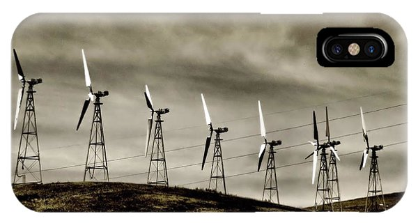 Wind Warriors Iv IPhone Case