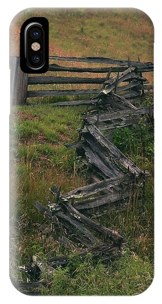 Winding Fence Phone Case by Bill Marder
