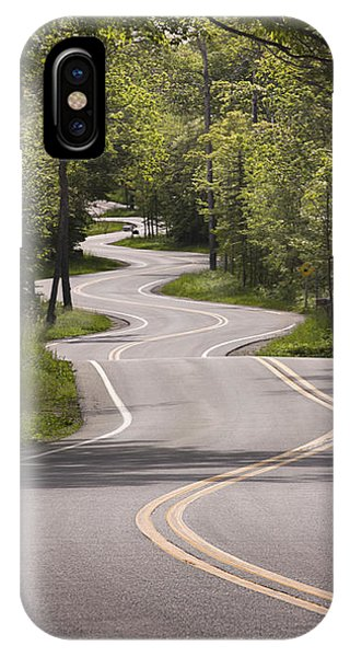 Winding Road Door County IPhone Case