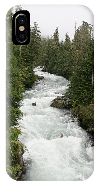 Winding White IPhone Case